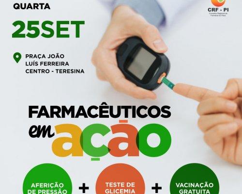 """""""Farmacêuticos em ação"""" oferecem atendimentos gratuitos"""